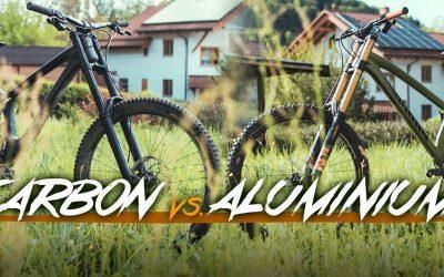 Carbon vs Alu: Downhill Vergleich – TrailTouch