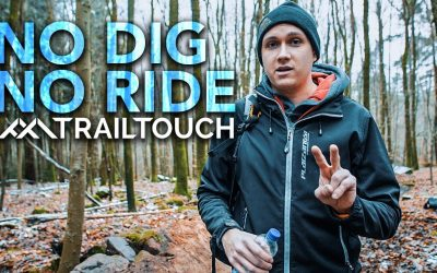 Winter Trail Building – No Dig No Ride #21 – TrailTouch