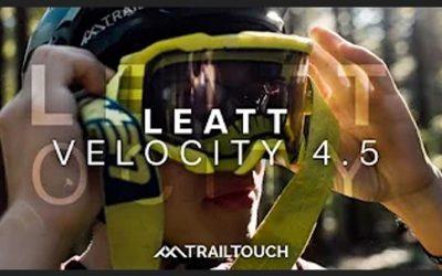 Over the glasses DH MTB goggle – Leatt Velocity 4.5   TrailTouch